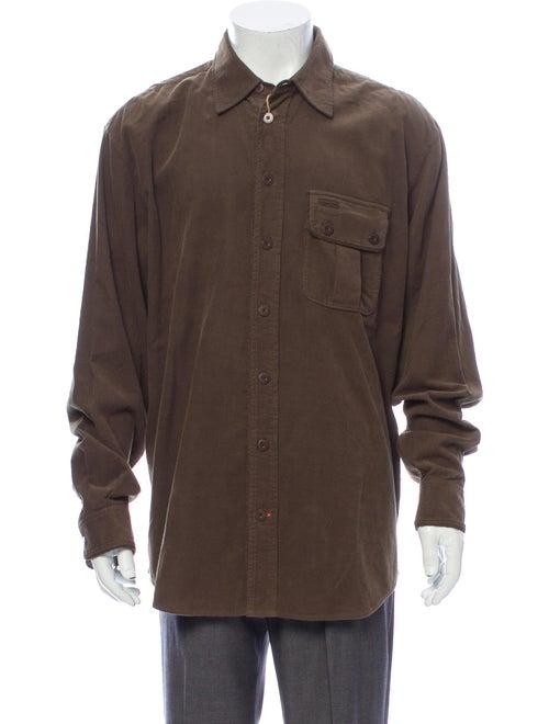 J.l. Powell Long Sleeve Shirt Green
