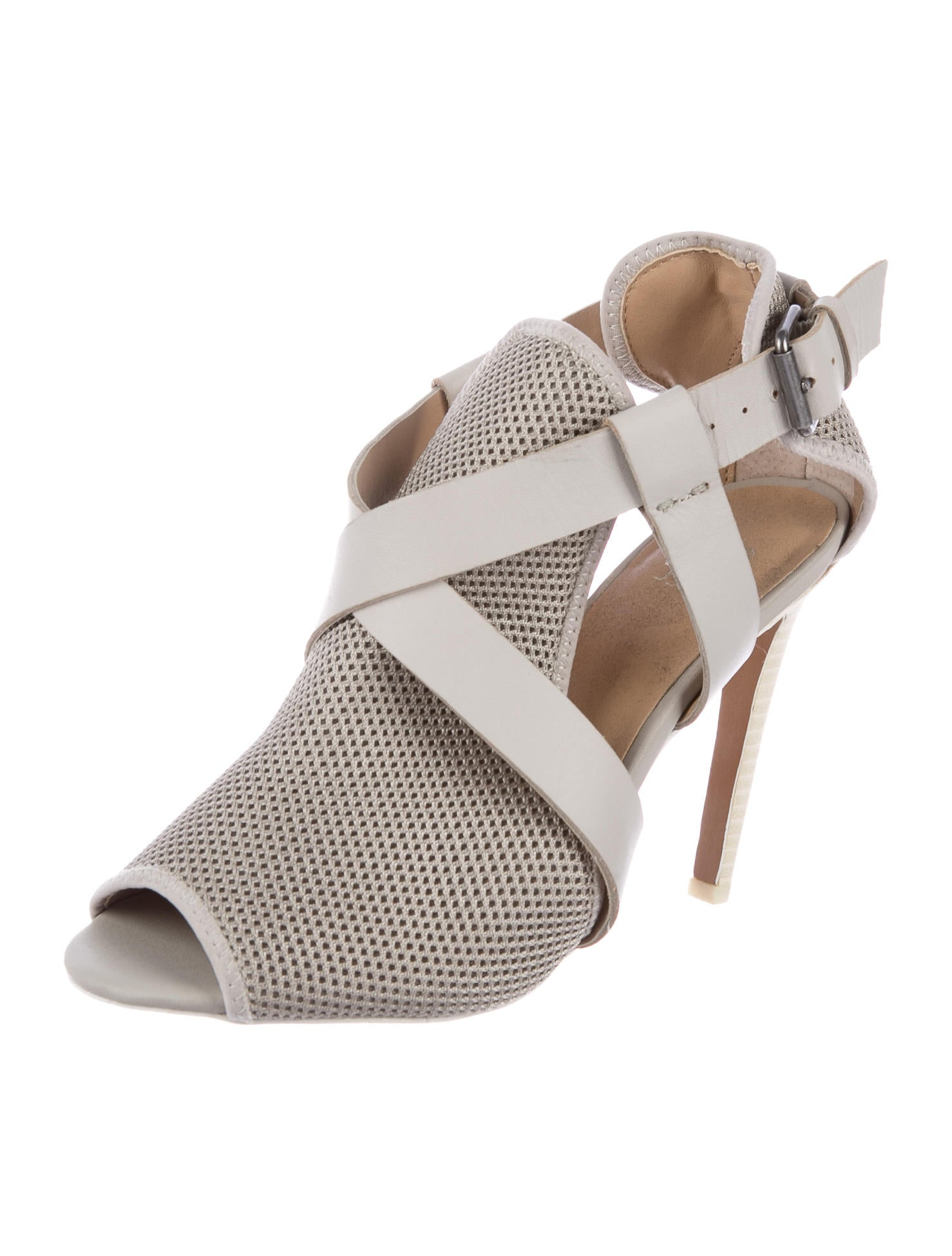 Joe's Crossover Peep-Toe Booties looking for sale online really for sale buy cheap classic tJhL0