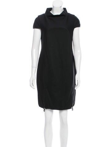 Jo No Fui Textured Cap-Sleeve Dress w/ Tags None