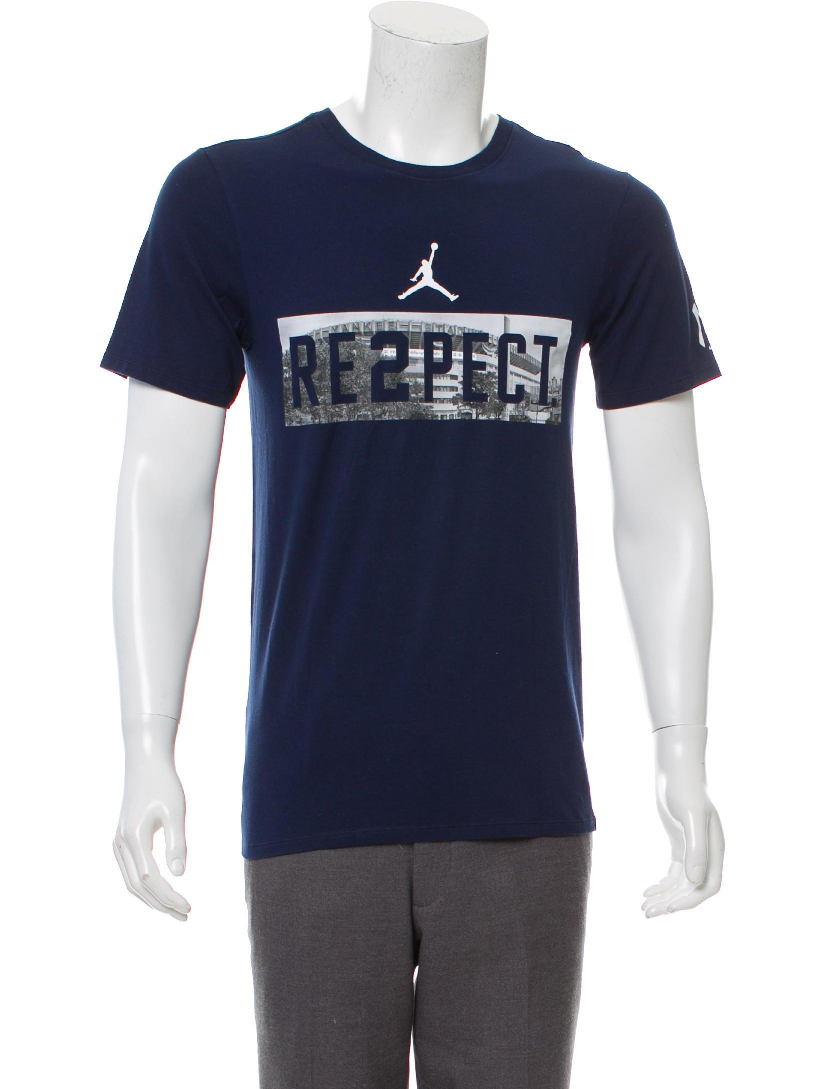 81a6becf8e19 Jordan Derek Jeter Respect T-shirt w  Tags - Clothing - WJORA20090 ...