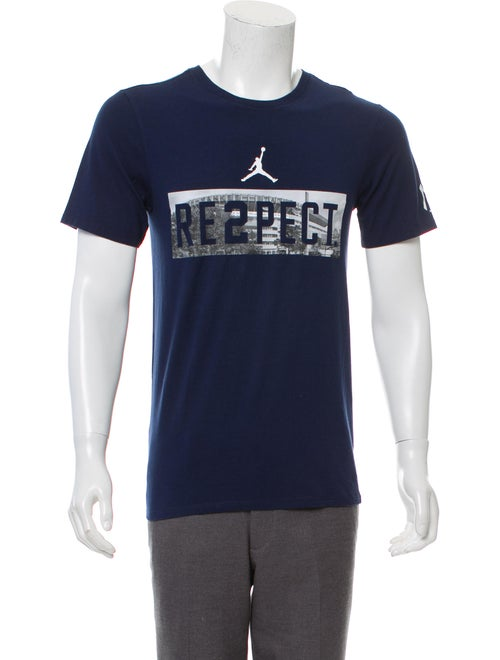 58404844abd Jordan Derek Jeter Respect T-shirt w/ Tags - Clothing - WJORA20090 ...