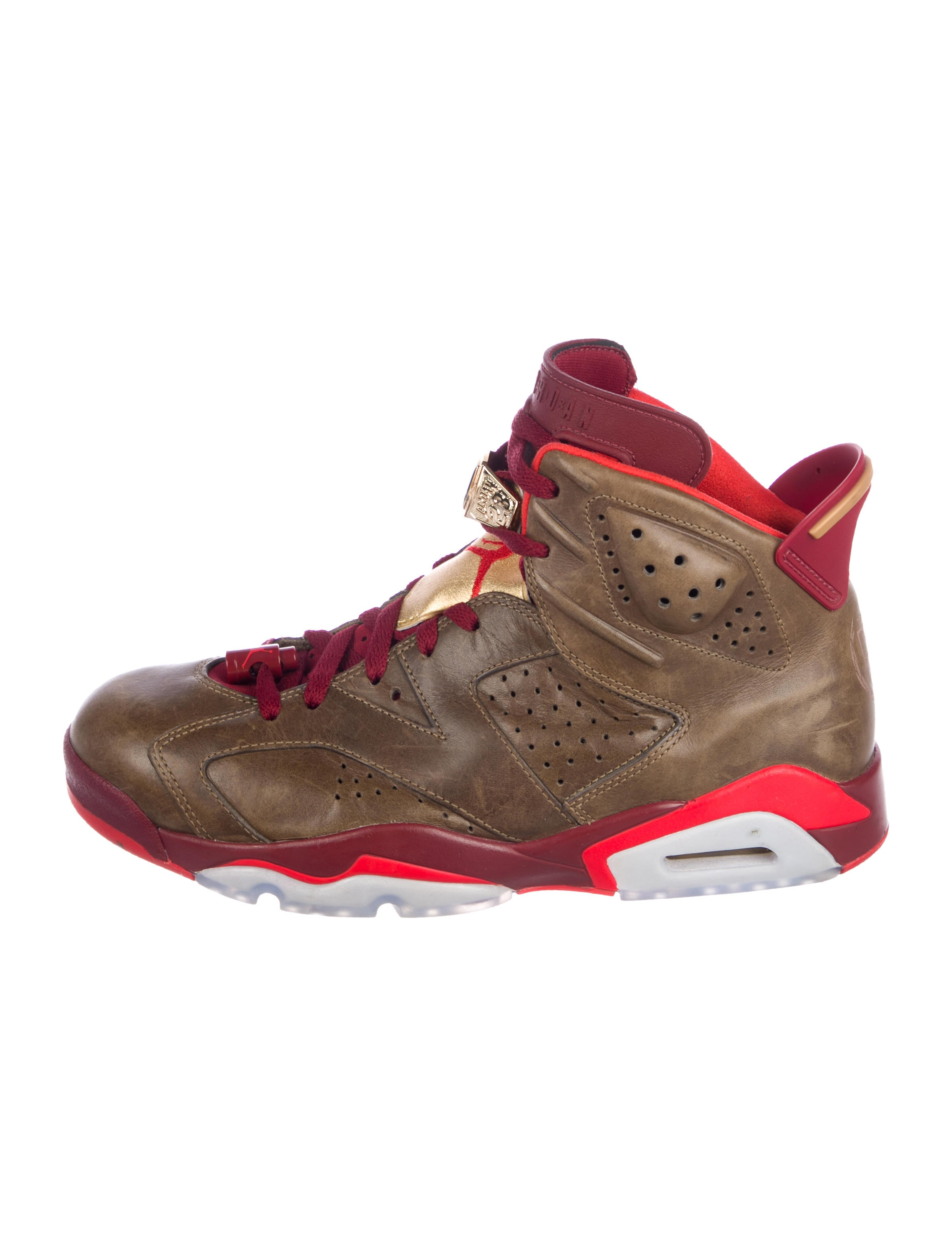 outlet store 60f34 61f12 Jordan 6 Retro Cigar Sneakers - Shoes - WJORA20144   The RealReal