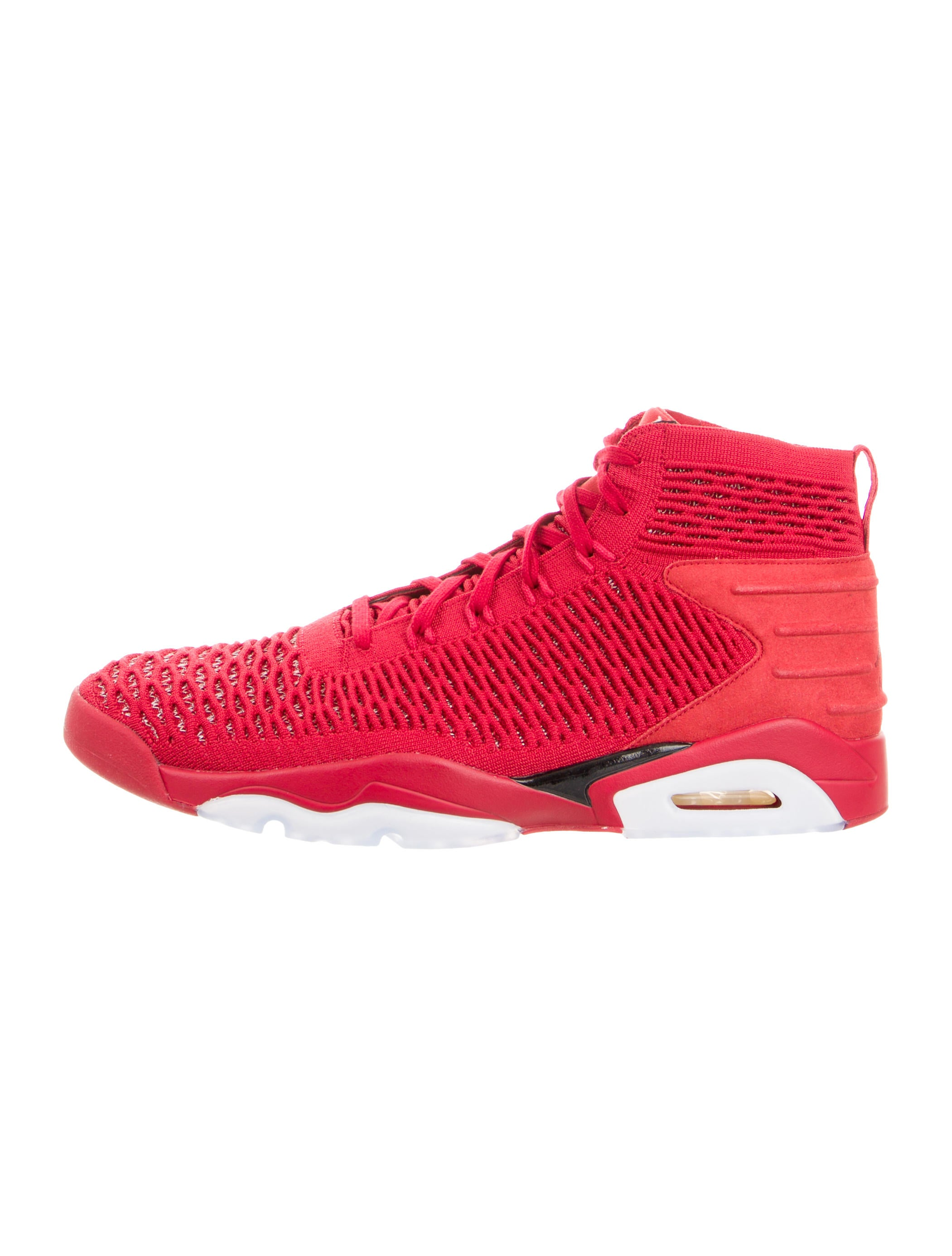 pretty nice bc869 056af Jordan Flyknit Elevation 23 Red Sneakers - Shoes - WJORA21179   The ...