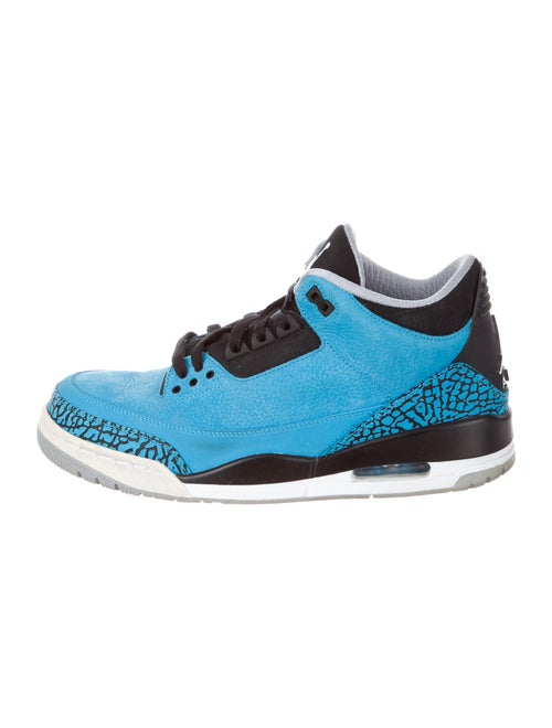 Jordan 3 Retro Powder Blue Sneakers Blue