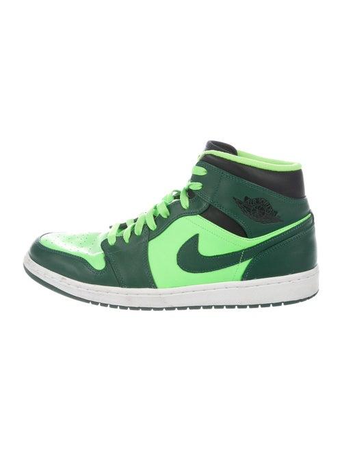 Jordan 1 Retro Mid Gorge Green Sneakers Green