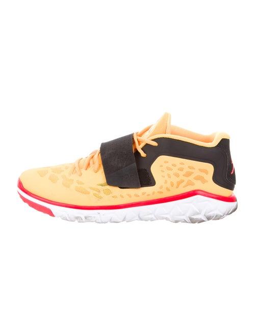 Jordan Printed Athletic Sneakers Orange