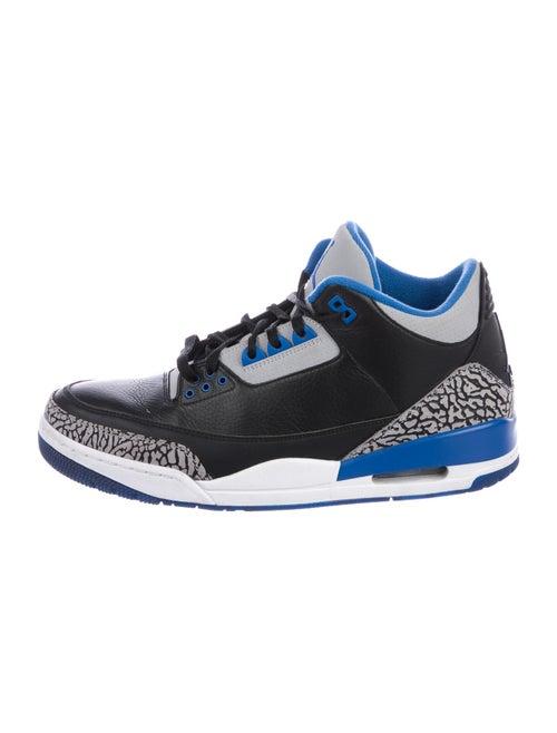 Jordan 3 Retro Sport Blue Sneakers Blue