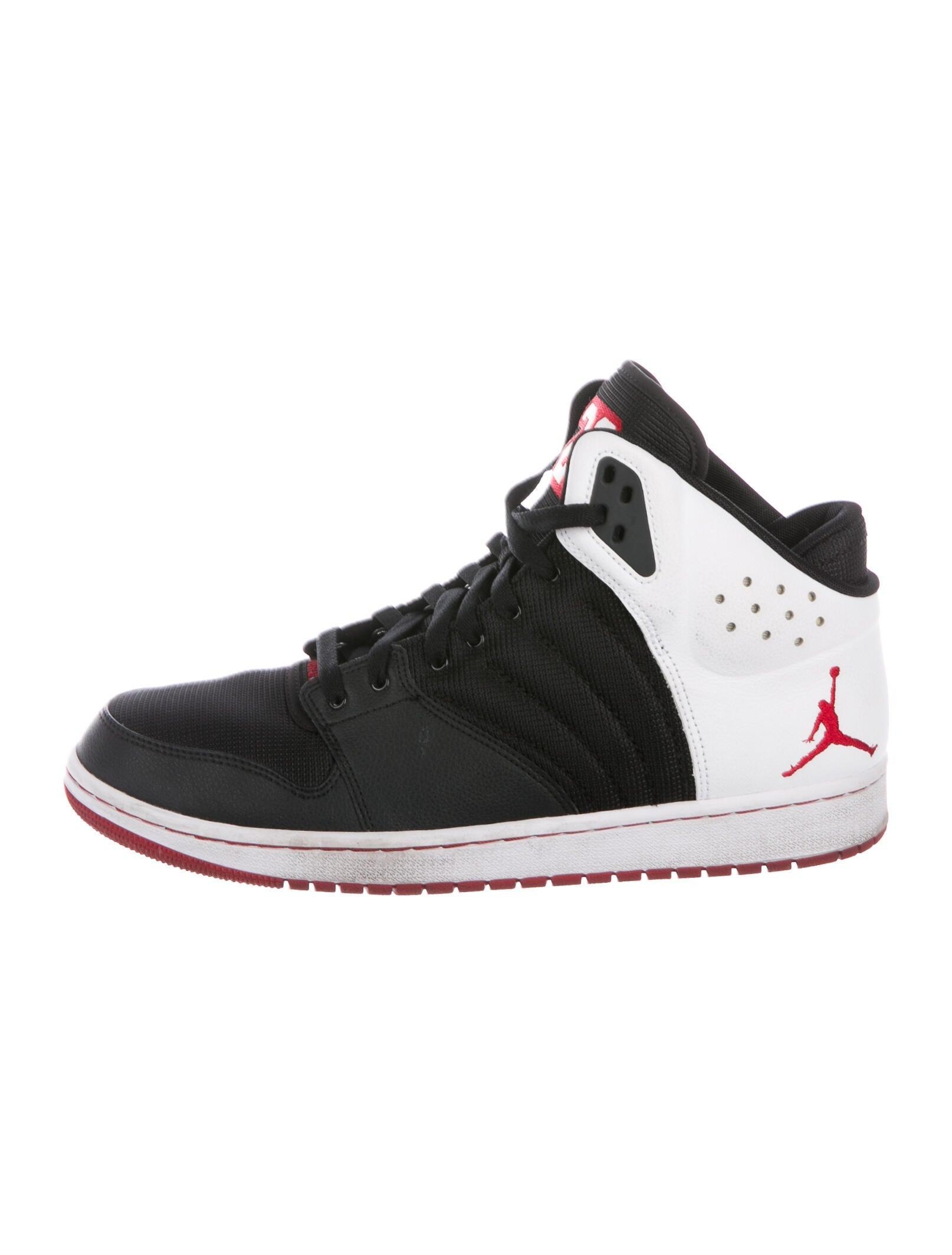 Jordan 1 Flight 4 Sneakers - Black Sneakers, Shoes - WJORA32607 ...