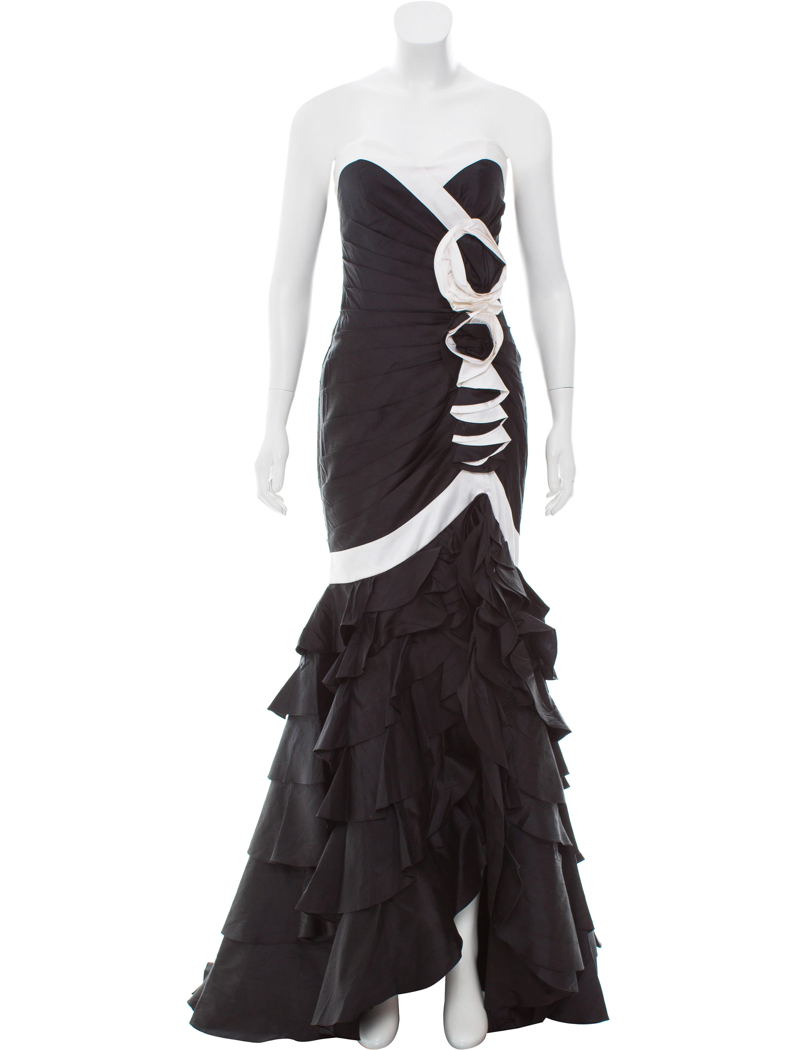 Jovani Strapless Evening Gown w/ Tags - Clothing - WJOVI20137 | The ...