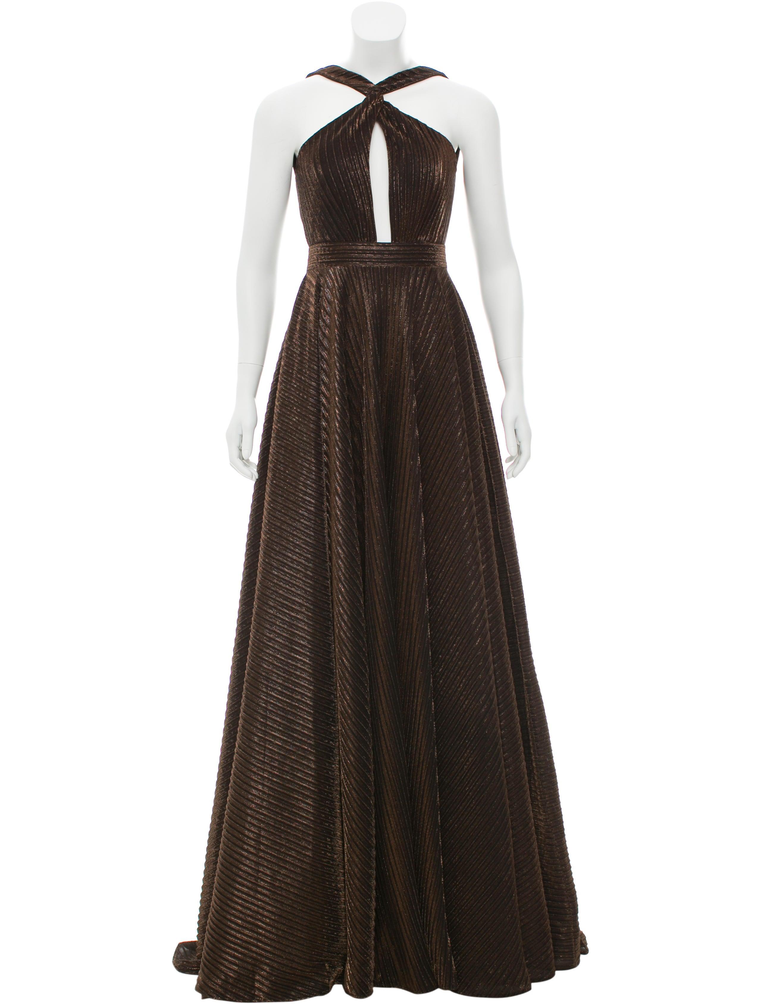 Jovani Metallic Evening Gown - Clothing - WJOVI20452 | The RealReal
