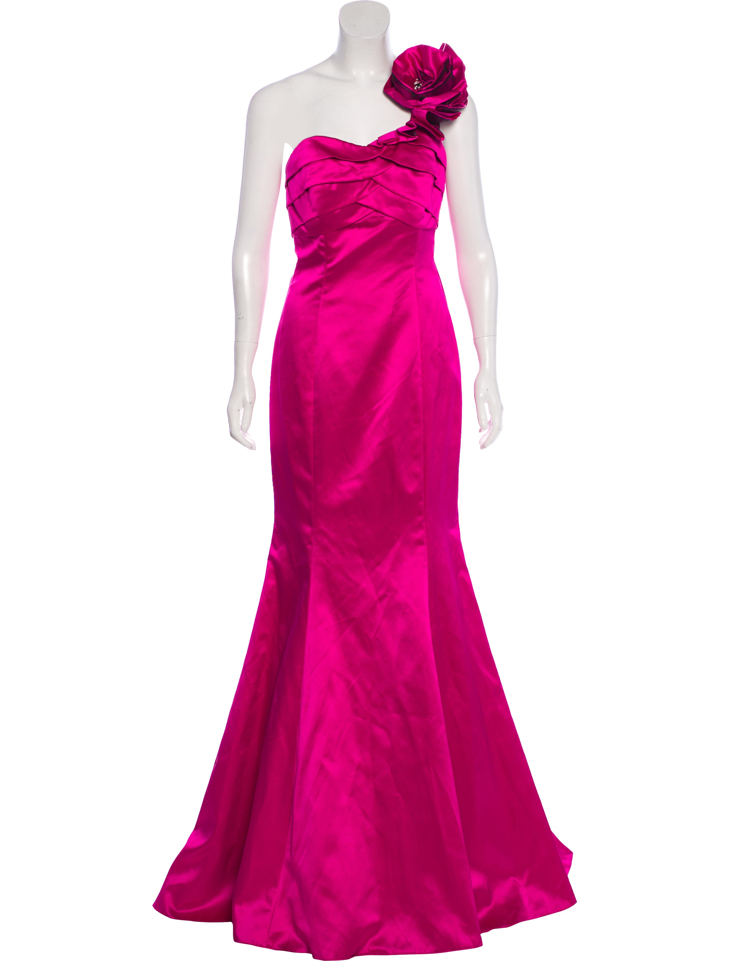 Jovani One-Shoulder Evening Gown - Clothing - WJOVI20603   The RealReal