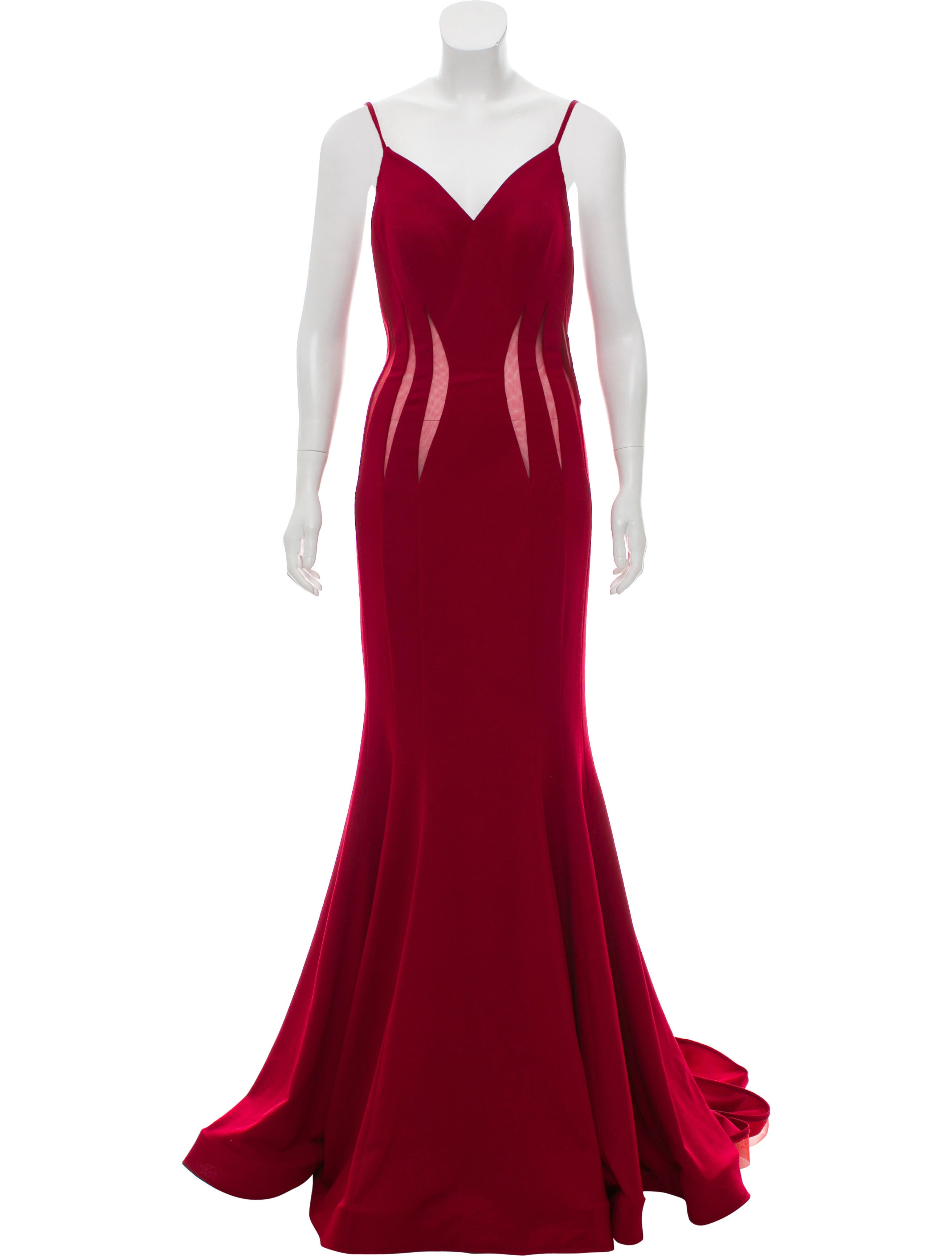 Jovani Backless Evening Gown - Clothing - WJOVI20625 | The RealReal