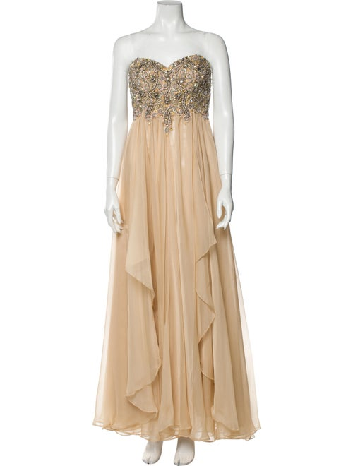 Jovani Strapless Long Dress