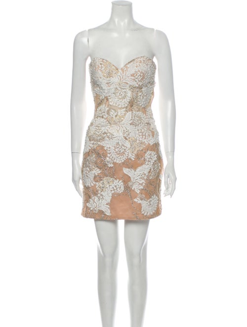 Jovani Strapless Mini Dress