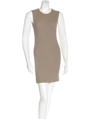 James Perse Rib Knit Mini Dress None