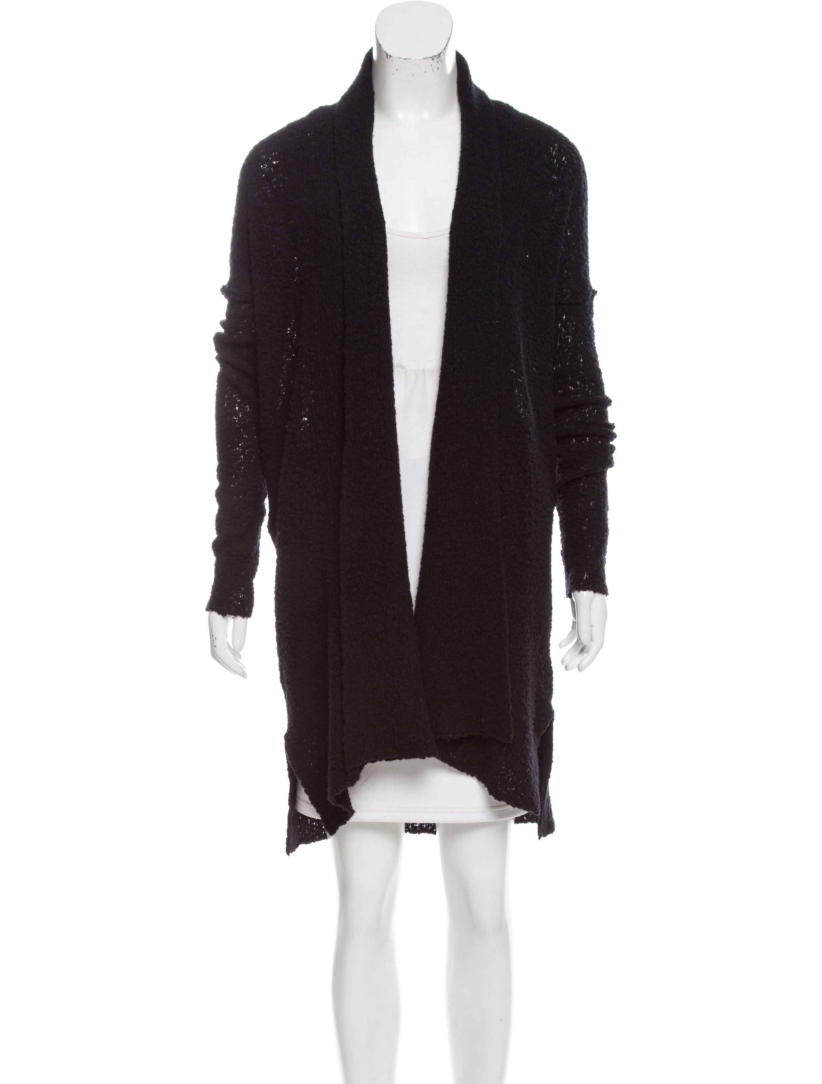 James Perse Wool Duster Cardigan - Clothing - WJP20328 | The RealReal