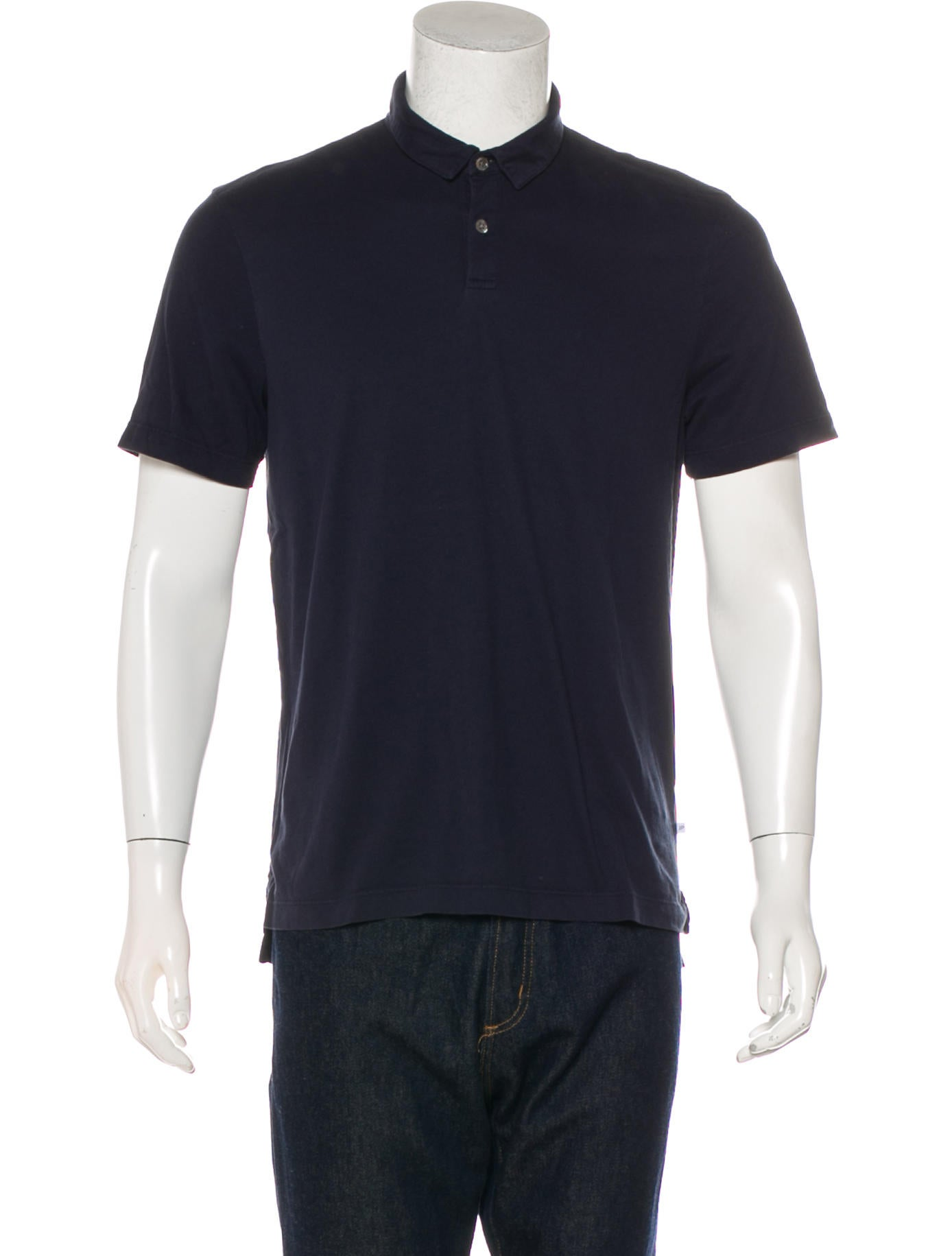 c551a0d73 James Perse Short Sleeve Polo Shirt - Clothing - WJP21585 | The RealReal