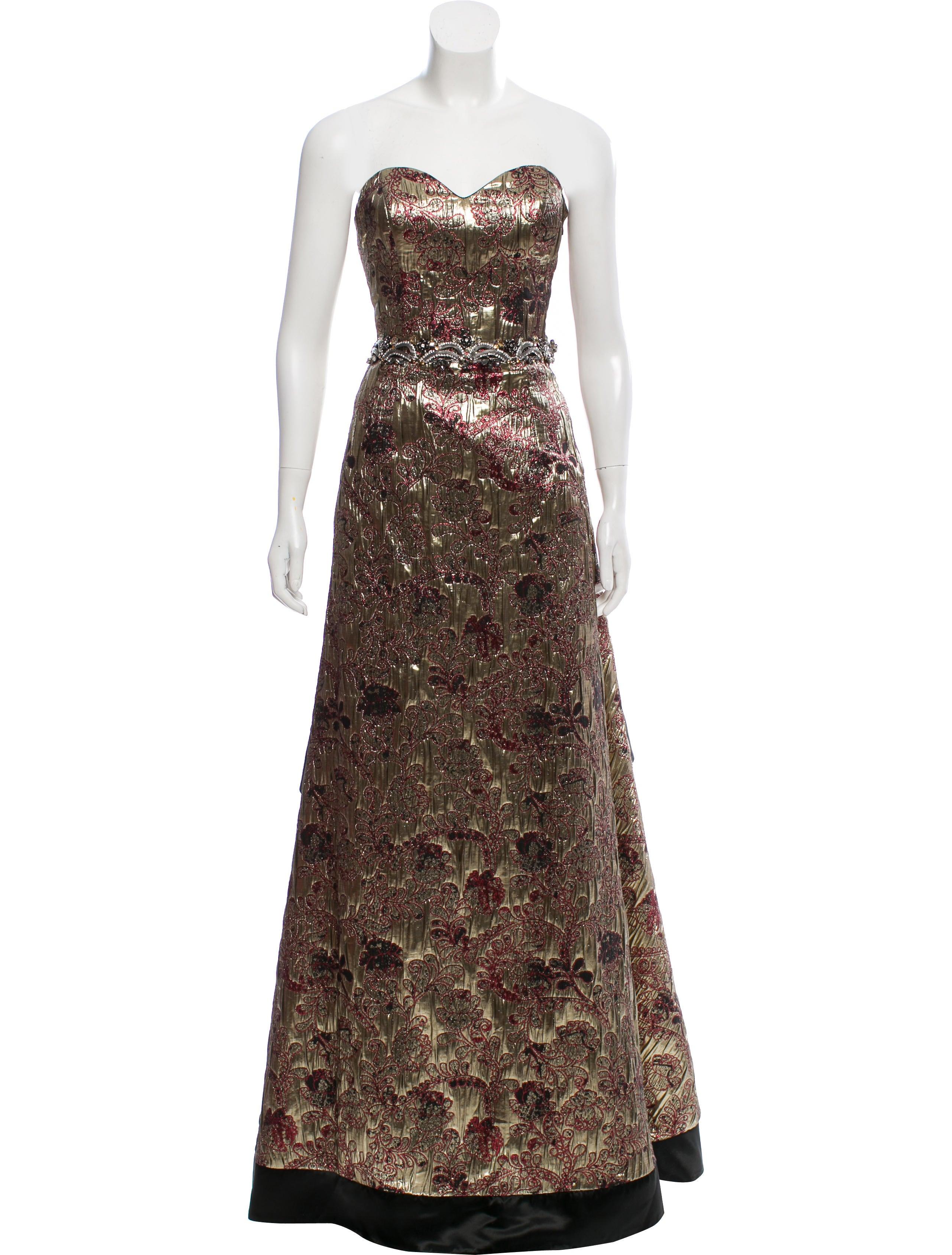 John Paul Ataker Metallic Evening Dress w/ Tags - Clothing ...
