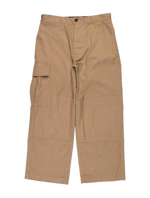 Jacquemus Cropped Cargo Pants khaki