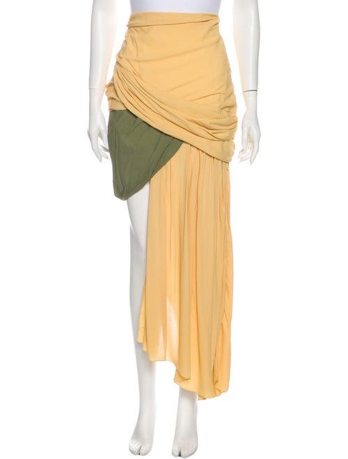 Jacquemus Mini Skirt Yellow