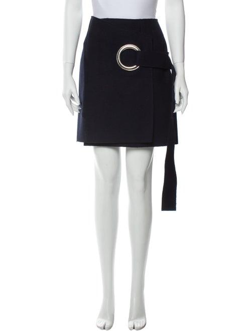 Jacquemus Wool Knee-Length Skirt Wool