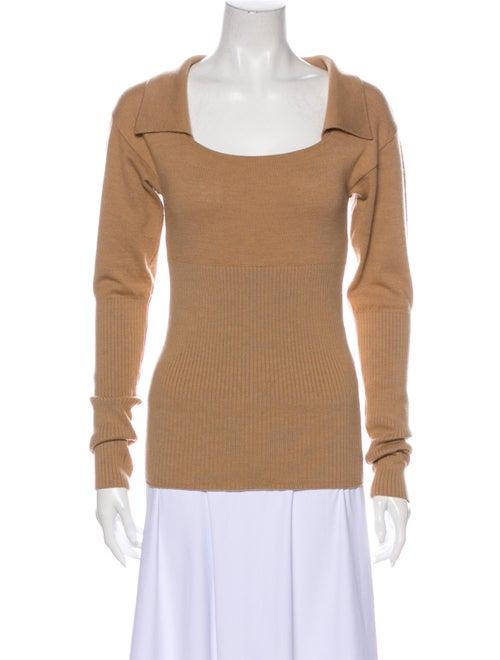 Jacquemus Wool Square Neckline Sweater Wool