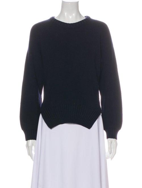 Jacquemus Crew Neck Sweater Blue