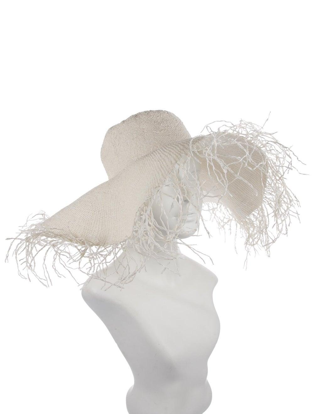 Jacquemus Straw Wide Brim Hat Cream - image 3