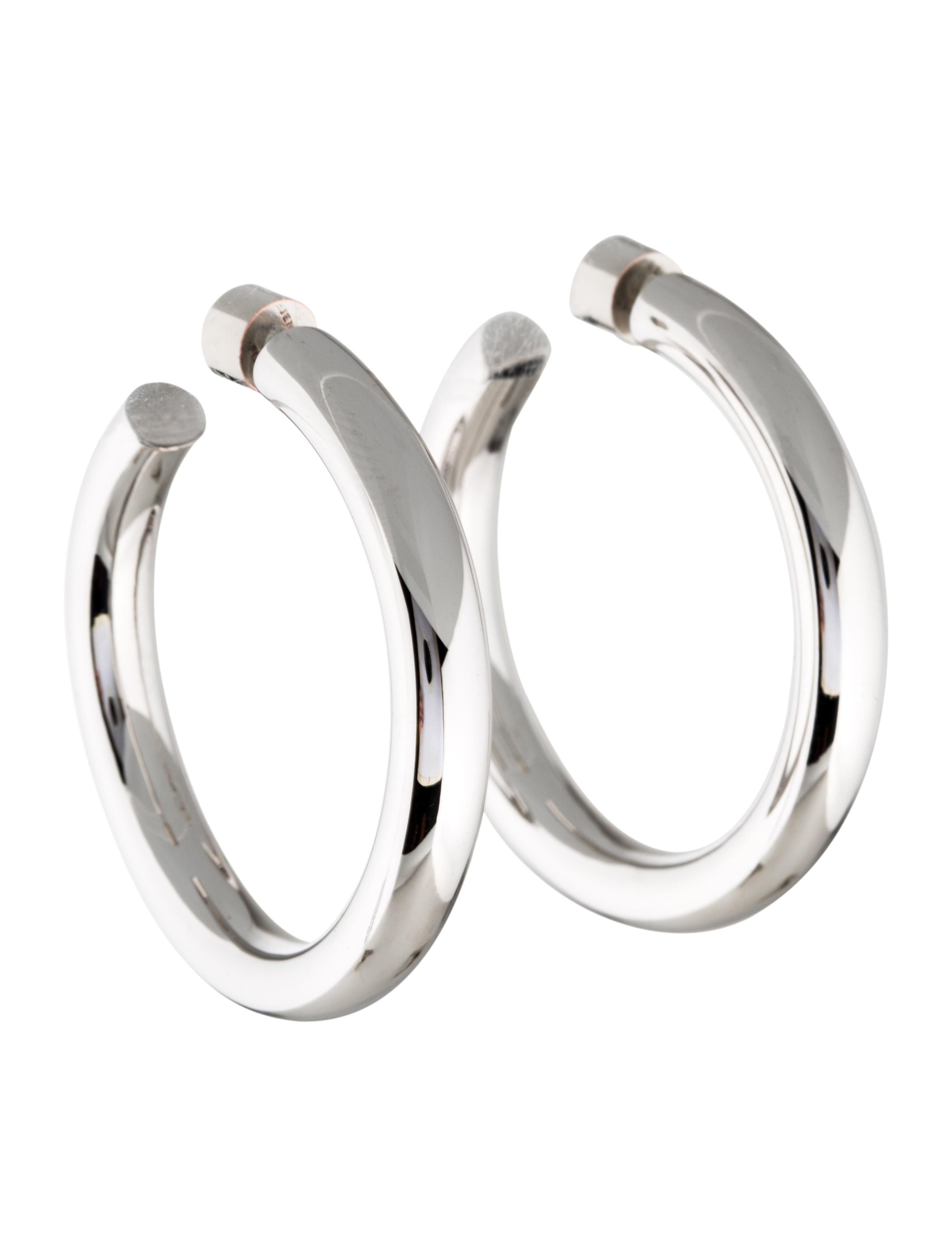 233a519a6 Jennifer Fisher Baby Samira Hoop Earrings - Earrings - WJR20667 ...