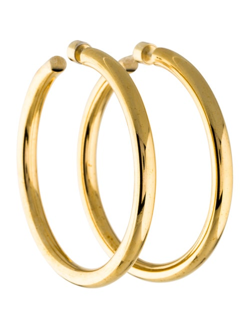 f7bc7dc99 Jennifer Fisher Baby Classic Hoops - Earrings - WJR20810 | The RealReal