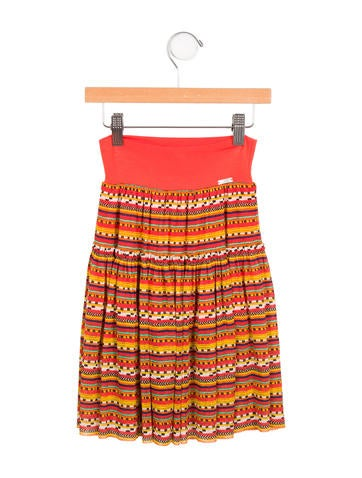 Junior Gaultier Girls' Selena Printed Skirt w/ Tags None