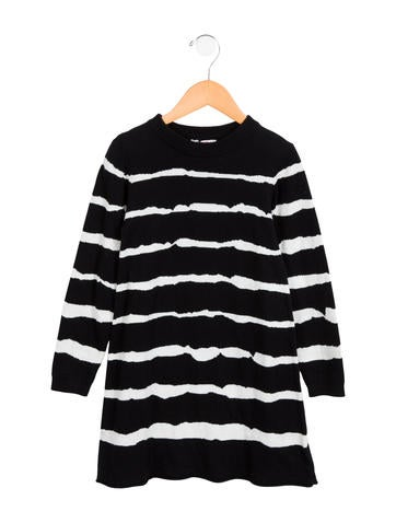 Junior Gaultier Girls' Striped Sweater Dress w/ Tags None