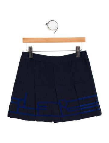 Junior Gaultier Girls' Knit Mini Skirt None