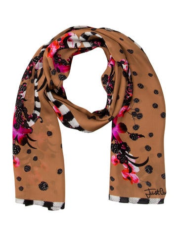 Floral Print Scarf w/ Tags