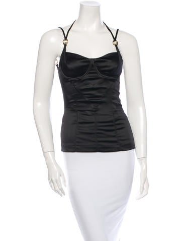 Sleeveless Bustier Top w/ Tags