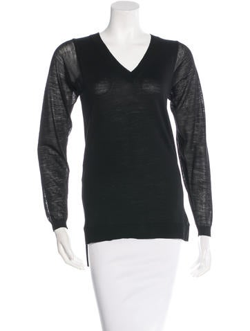 Just Cavalli Wool Long Sleeve Sweater None