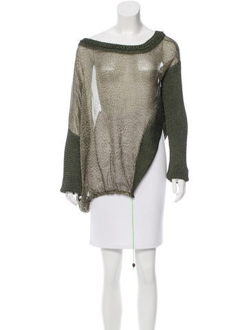 Just Cavalli Oversize Asymmetrical Top None