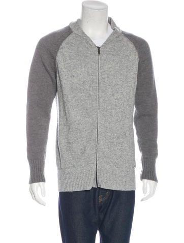 Just Cavalli Wool Zip Sweater None