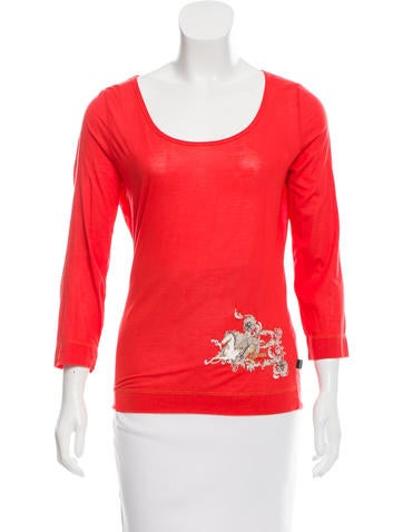 Just Cavalli Long Sleeve Top None