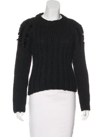 Just Cavalli Knit Embellished Sweater None