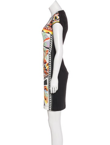 Sleeveless Printed Dress w/ Tags
