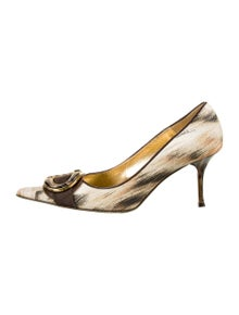 Just Cavalli Printed Pumps