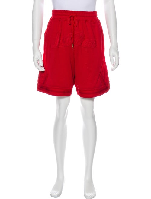 Just Don Athletic Shorts Red