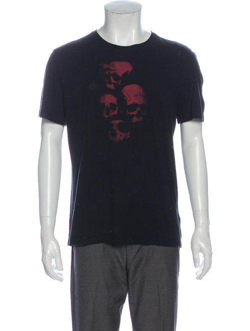 John Varvatos Star USA Skull Graphic Print T-Shirt