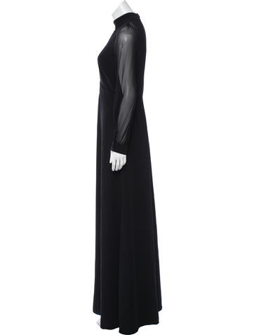 Long Sleeve Evening Dress