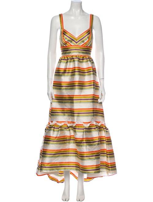 Jill Jill Stuart Striped Long Dress w/ Tags