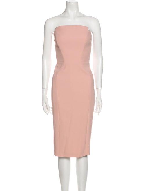 Jill Jill Stuart Strapless Knee-Length Dress