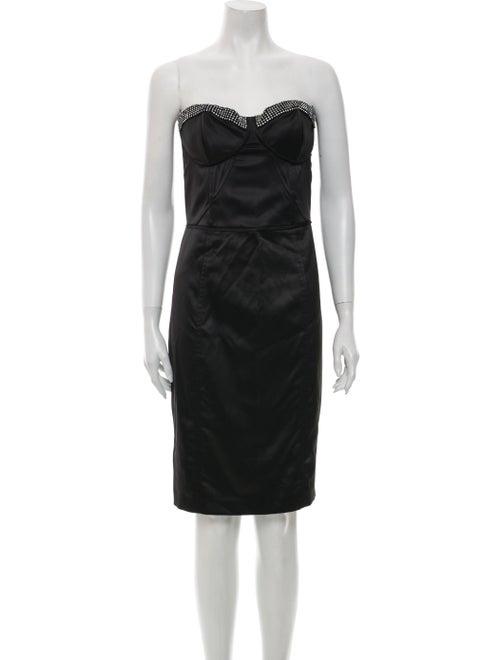 Jill Jill Stuart Strapless Mini Dress Black