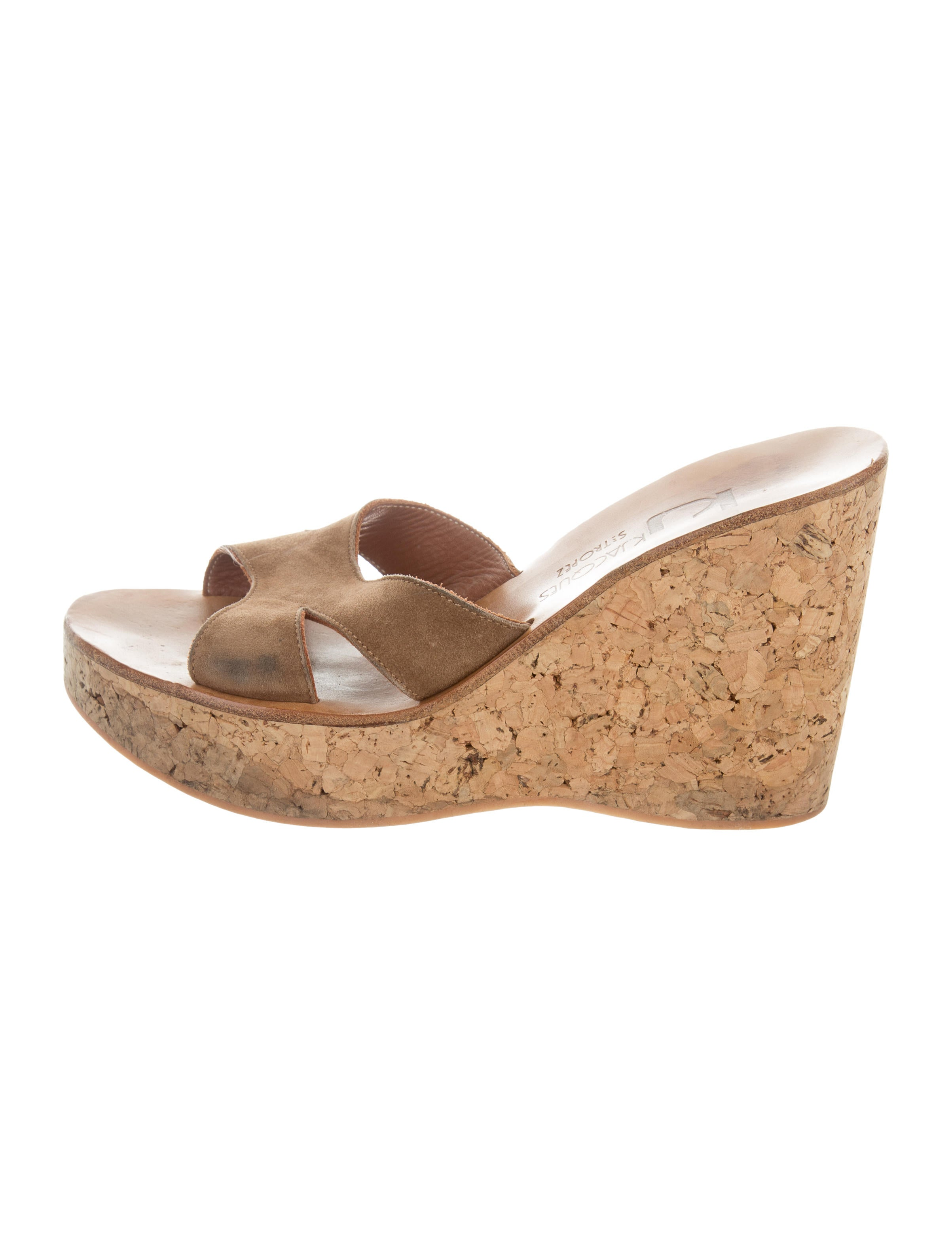 dd0f2899c3b0 K Jacques St. Tropez Kobe Slide Wedges - Shoes - WK021167