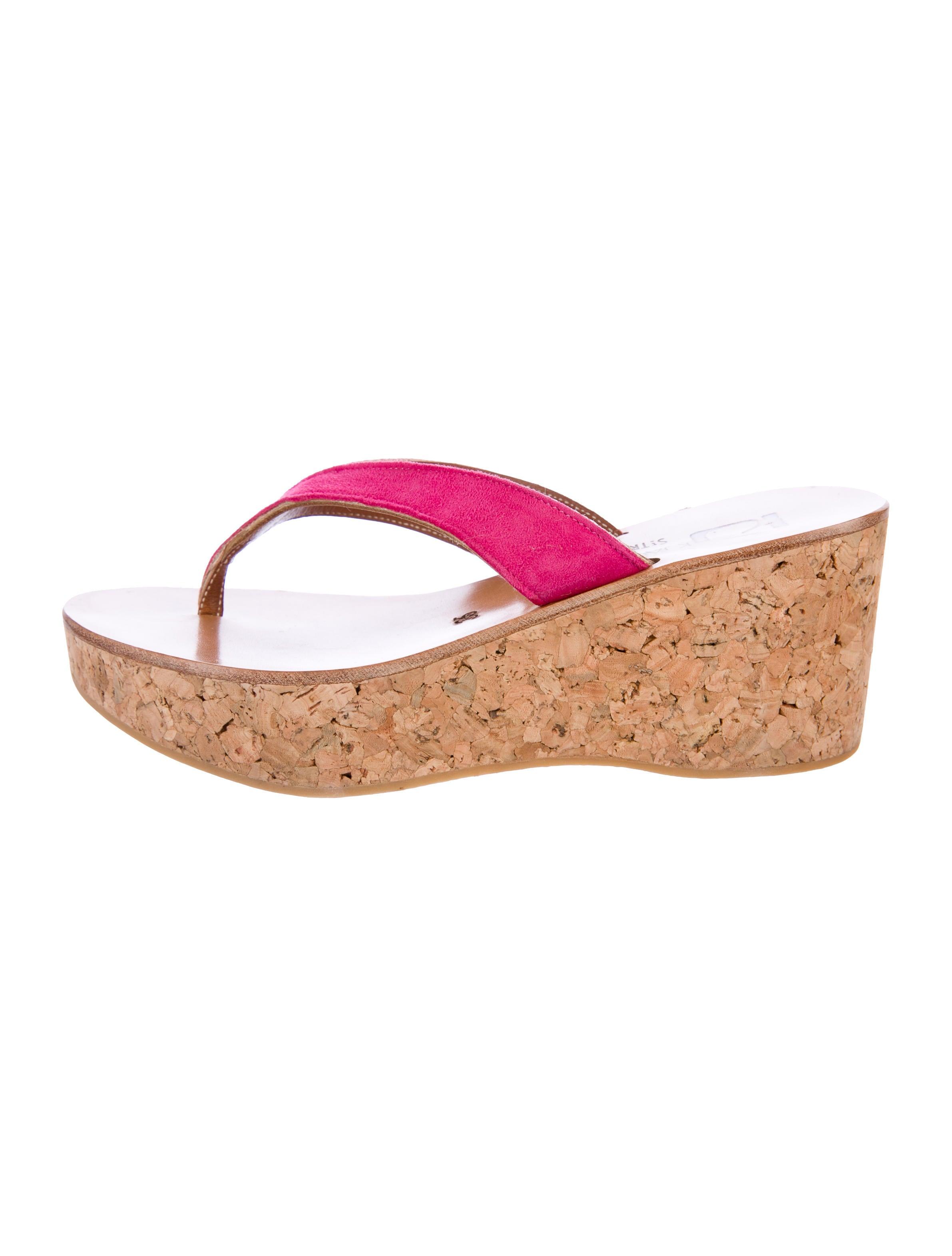 e96df78658c14 K Jacques St. Tropez Diorite Suede Wedges - Shoes - WK021271